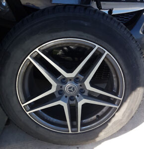 Winter tires and mags 245-60-18