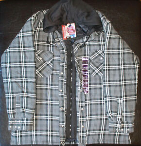 New Flannel Lined Work Shirt