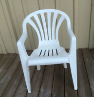White Lawn Chairs