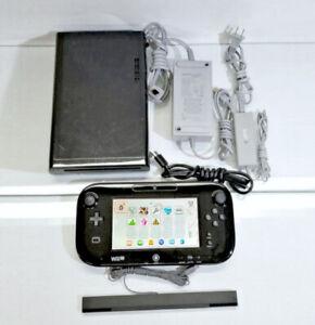 32GB   Nintendo Wii    U • Deluxe Black Model
