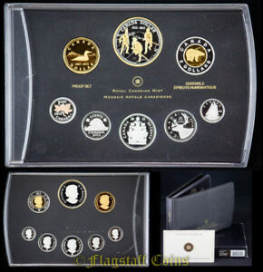 2012 Monnaie  pure silver+gold Proof Set of 8  1812 2012 War