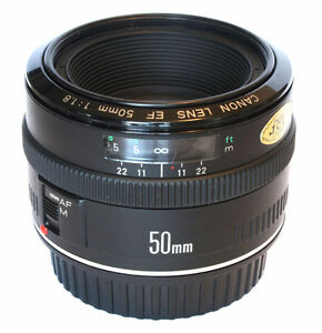 canon lens 50mm 1;8