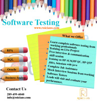 SOFTWARE TESTING TRAINING |JOB ASSIS|LIVE PROJECTS IN ALL DOMAIN