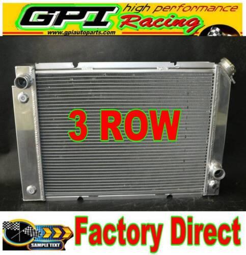 Aluminum radiator /& Fans for Pontiac Fiero 2.5L 2.8L 1984 1985 1986 1987 1988
