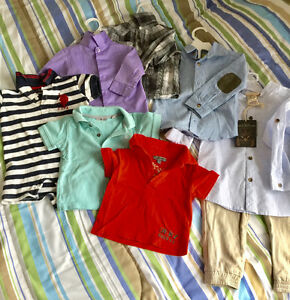 Brand name baby boy clothing 0M - 2T