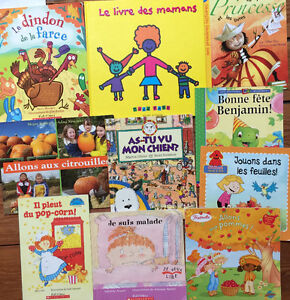 FRENCH PICTURE books all 9 for $25