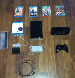 32gb Wii U with many accessories
