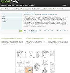 Plans Ingénierie/Architecture - Permis de Construction