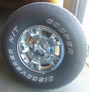 Chrome Wheels - Tires -TPMS