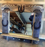 Beautiful hand made Barn Wood Mirror