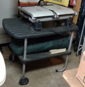 George Foreman Grill with stand