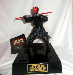 STAR WARS Darth Maul Talking BANK!!! Brand New in Box.
