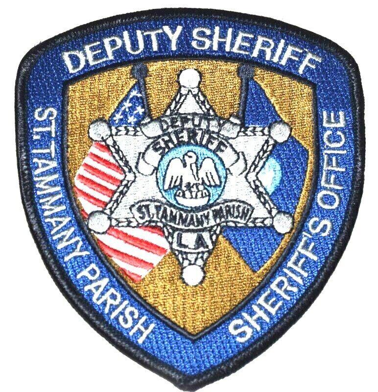 ST TAMMANY PARISH – DEPUTY – LOUISIANA LA Sheriff Police Patch STATE SEAL FLAGS