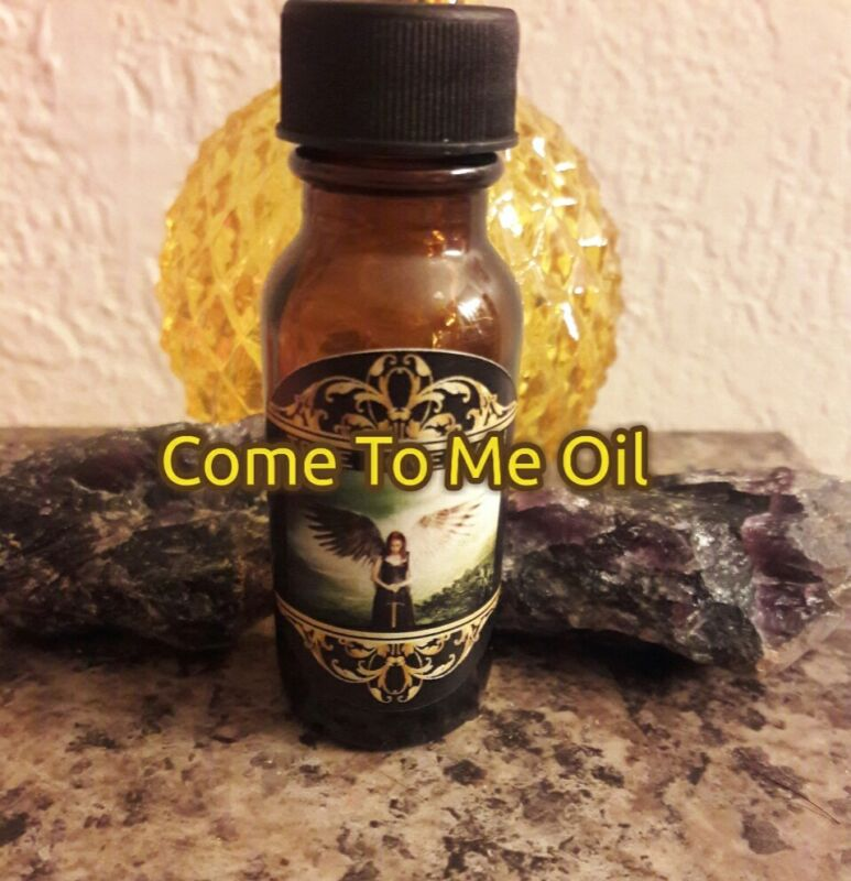 Come To Me Oil. For Love, Money, Commitment... POWERFUL!!!
