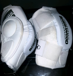 new sher-wood  pro fit elbow pads