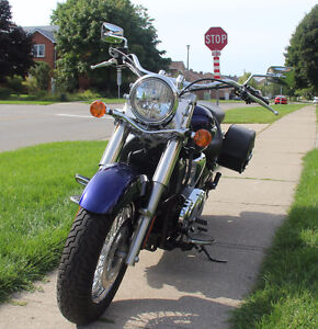 Mint Condition Kawasaki Vulcan 900 Classic - Low KMS! Cambridge Kitchener Area image 2
