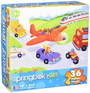 "Springbok ""Zoom, Zoom"" 36-Piece Kid's Puzzle"