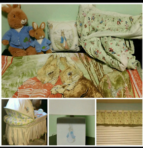 Peter Rabbit Nursery Bedding  Set