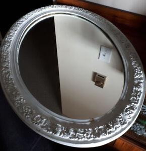 Nice vintage retro  distressed wall mirror