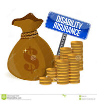 7 DOLLARS A MONTH DISABILITY INSURANCE