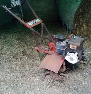 Rototiller - non functional - project machine