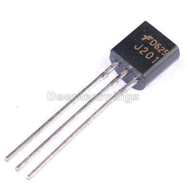5pcs J201 Jfet N-channel Transistor 50ma 40v To-92