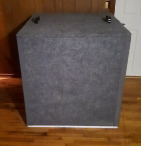 Guitar Iso Box (w/ mics, cables) - Complete turnkey setup!