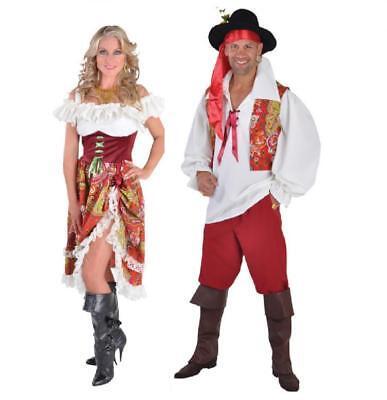 Zigeunerin Zigeuner Pirat Kleid Kostüm Piratin Zigeunerkostüm Piratenkostüm - Zigeuner Kleid Kostüm