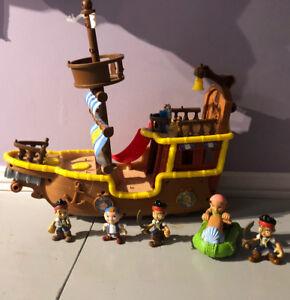 Jake Le Pirate Bateau
