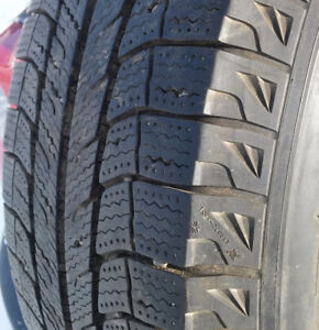 Four Michelin Winter Tires 225/70R16 on Rims