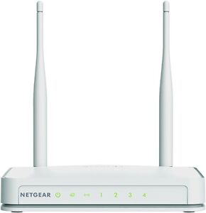 NETGEAR N300 WiFi Router with External Antennas (WNR2020-200PAS)