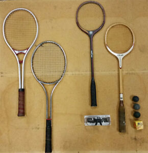 Tennis, Raquetball and Squash Racquets Oh My!