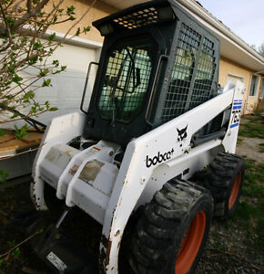 Package Priced - Bobcat, 2 buckets & hauling trailer