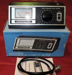 3-30 MhZ SWR meter in box.
