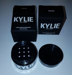 KYLIE COSMETICS ULTRA GLOW HIGHLIGHTER POWDER IN WISTERIA $40 EA