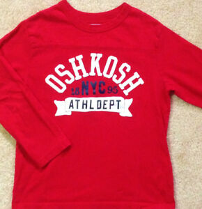 Oshkosh ~ Boys Size 6 Athletic Department Top