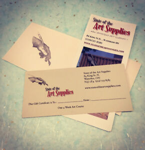 ART LESSONS ~ Youth to Adult ~ LOOK! GIFT CERTIFICATES!!!