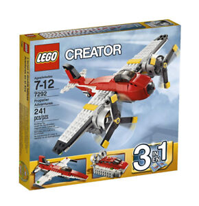 LEGO Creator Propeller Adventures 7292, NEW and SEALED