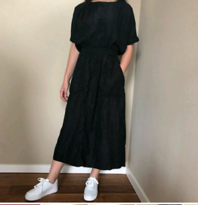 Aritzia: Wilfred Mazard Dress (Black, size small)
