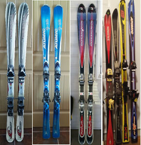 Rossignol Downhill Carving Skis & Bindings in Crowsnest Pass