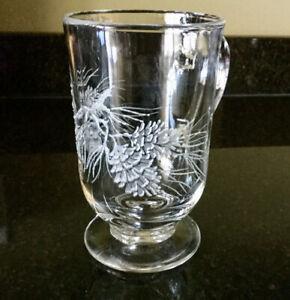 Set of 8 heavy glass mugs