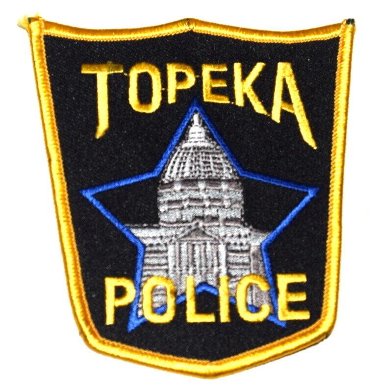 TOPEKA KANSAS KS Sheriff Police Patch CAPITAL CITY CAPITOL DOME ~
