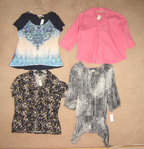 Tops (some new), Pants, Jackets, Dresses - size 16, XL