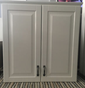 5 IKEA Kitchen Cabinets SEKTION SYSTEM BODBYN-OFF WHITE