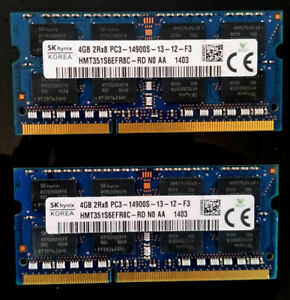2GB, 4GB, 8GB,16GB DDR3 204pin PC3/L RAM, 400GB SSD Kingston