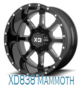 Roues (Mags) KMC XD Series Mammoth  20'' 5-127/139.7 Wrangler