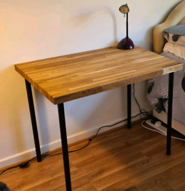 Solid oak office desk New contactless collection
