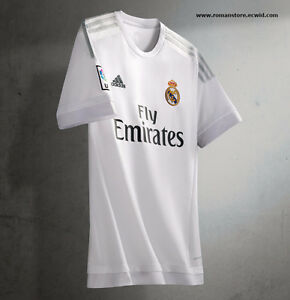 Real Madrid white Soccer Jerseys / season 2016 | Ronaldo 7