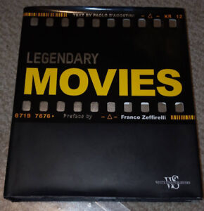 Legendary Movies by Paolo D'Agostini Coffee Table-Sized Book