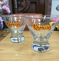 KAHLUA BAR GLASSES COLLECTIBLES BARWARE MISSISSAUGA
